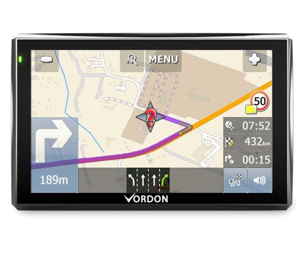 Vordon Vordon 7 Mapy Europy 4gb Fm Av In Nawigacje