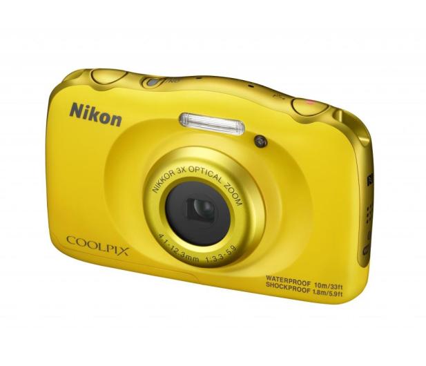 Nikon Coolpix W100 żółty + plecak  - 426241 - zdjęcie 3