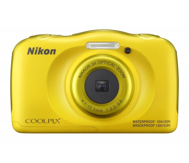 Nikon Coolpix W100 żółty + plecak  - 426241 - zdjęcie 2
