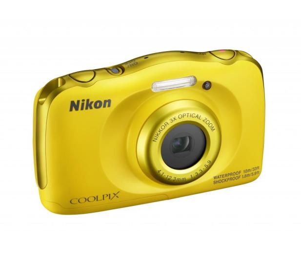 Nikon Coolpix W100 żółty + plecak  - 426241 - zdjęcie