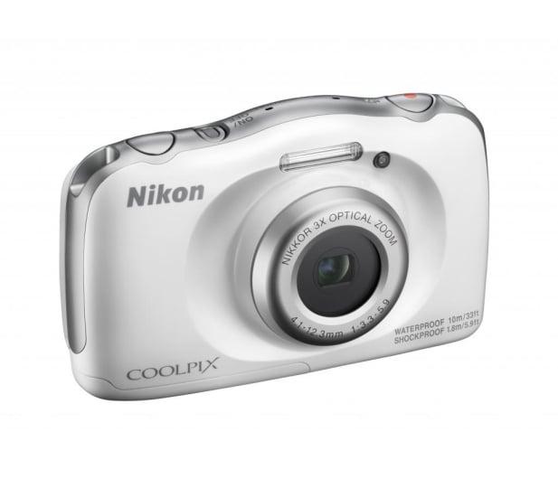 Nikon Coolpix W100 biały + plecak  - 426237 - zdjęcie