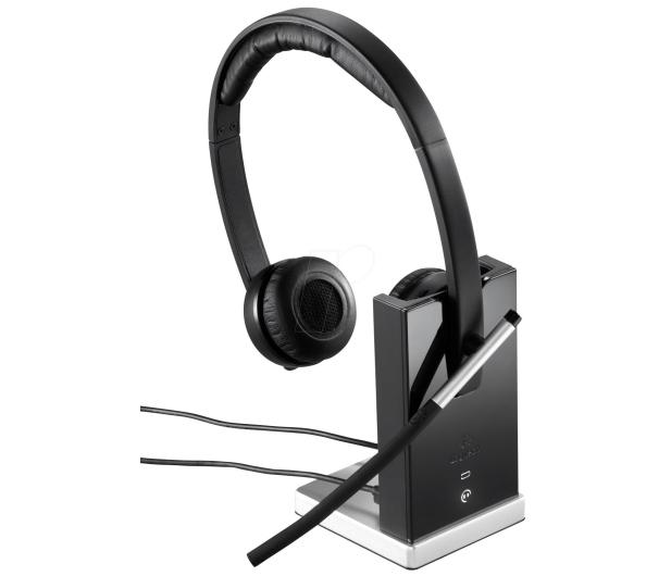Logitech H820E Wireless Headset Dual z mikrofonem - 207968 - zdjęcie 2