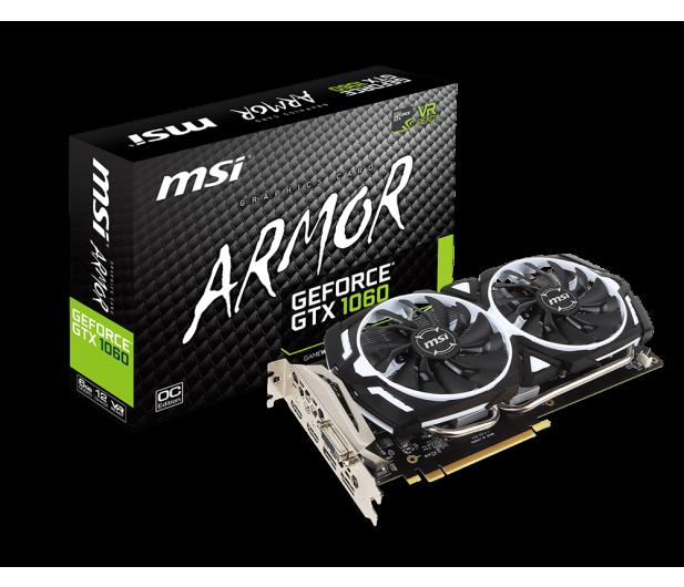 MSI GeForce GTX 1060 ARMOR OC V1 6GB GDDR5 - 323944 - zdjęcie