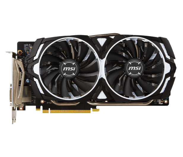 MSI GeForce GTX 1060 ARMOR 6GB + Kingston 240GB A400  - 443191 - zdjęcie 3