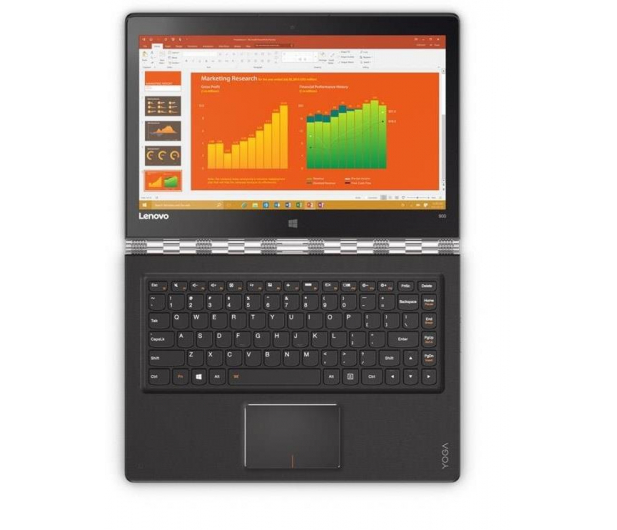 Lenovo Yoga 900 13 i5-6200U/4GB/256/Win10 Srebrny - 280632 - zdjęcie 9
