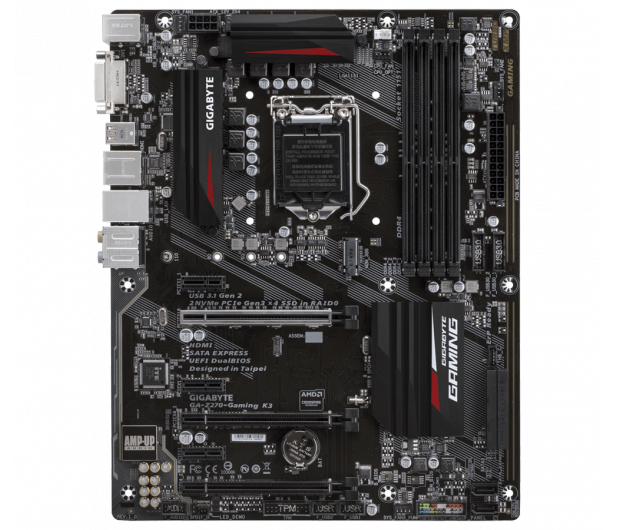 Gigabyte GA-Z270-GAMING K3 (3xPCI-E DDR4 USB3.1/M.2) - 342933 - zdjęcie 3