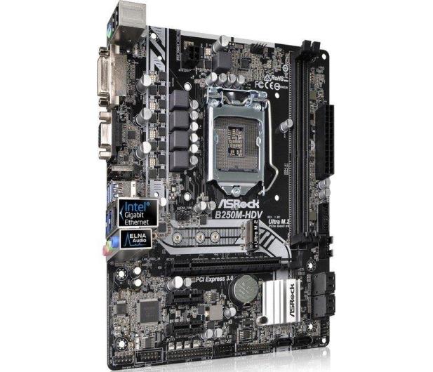 ASRock B250M-HDV (PCI-E DDR4 USB3/M.2) - 342783 - zdjęcie 2