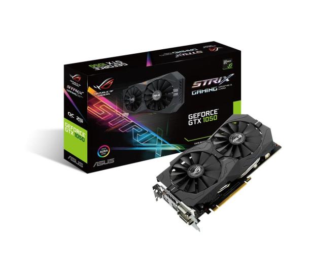 ASUS GeForce GTX 1050 Strix OC 2GB GDDR5 - 343276 - zdjęcie