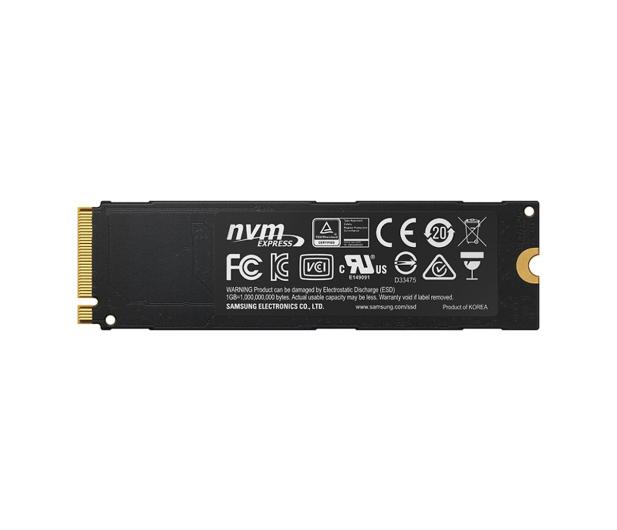 Samsung 512GB 1,8'' Seria 960 Pro M.2 2280 NVMe  - 345076 - zdjęcie 4
