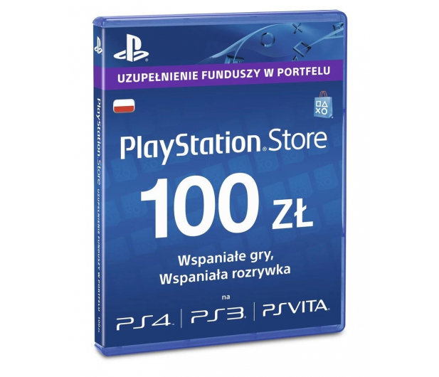 Sony PlayStation Live Card PSN 100 PLN - 346759 - zdjęcie
