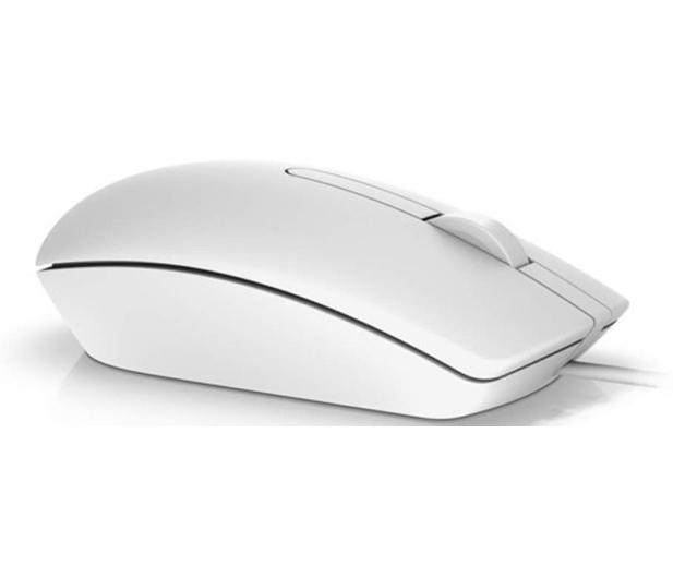 Dell MS116 optyczna biała USB - 341674 - zdjęcie 3