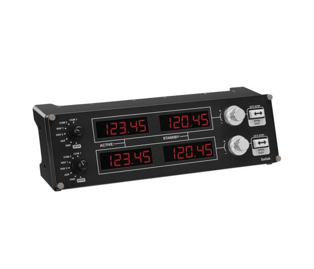 Logitech G Saitek Pro Flight Radio Panel  - 341582 - zdjęcie