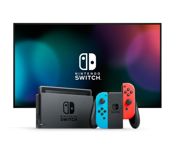 Nintendo Switch Joy-Con Red/Blue - 345274 - zdjęcie 3