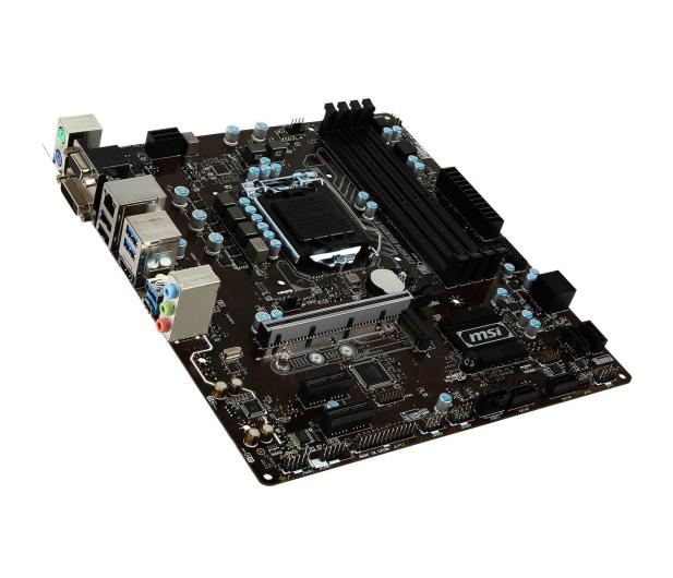MSI B250M PRO-VDH (3xPCI-E DDR4 USB3.1/M.2)  - 342121 - zdjęcie 2