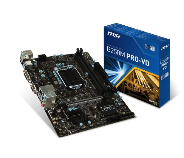 MSI B250M PRO-VD (3xPCI-E DDR4 USB3.1/M.2)  - 342131 - zdjęcie