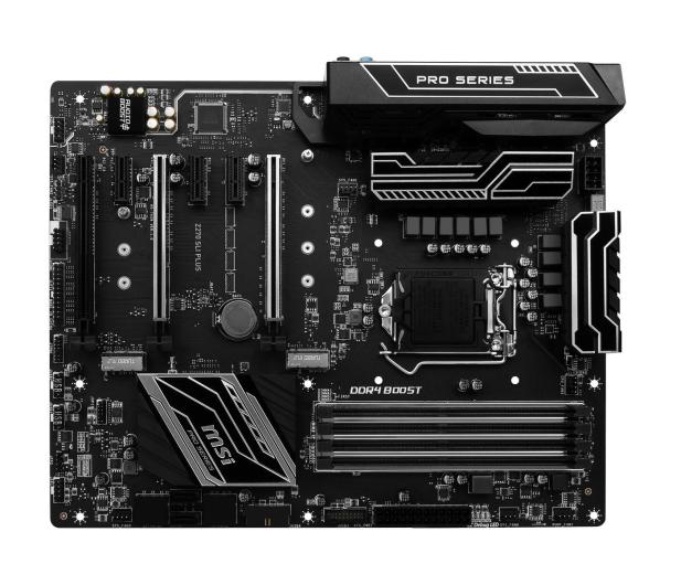 MSI Z270 SLI PLUS (3xPCI-E DDR4 USB3.1/M.2)  - 342176 - zdjęcie 4