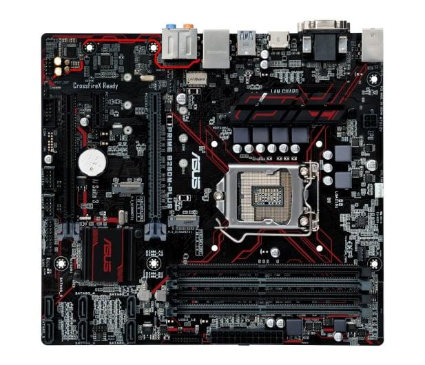 ASUS PRIME B250M-PLUS (3xPCI-E DDR4 USB3/M.2) - 341615 - zdjęcie 4