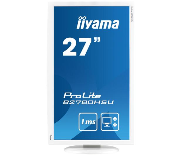 iiyama B2780HSU biały - 253799 - zdjęcie 2