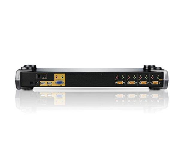 ATEN CS1754Q9-AT-G RACK USB + VGA (4 komputery) - 29853 - zdjęcie 3