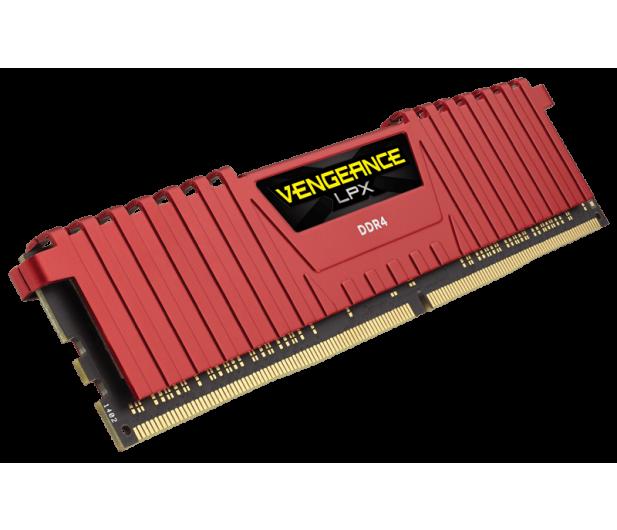 Corsair 32GB 2400MHz Vengeance LPX Red CL14 (2x16GB) - 350202 - zdjęcie 2