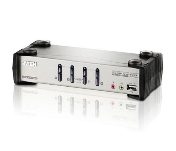 ATEN CS1734B-A7-G USB + VGA (4 komputery) - 56235 - zdjęcie 2