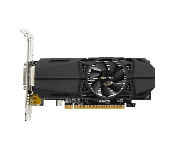 Gigabyte GeForce GTX 1050 Ti Low Profile OC 4GB GDDR5 - 347950 - zdjęcie 3