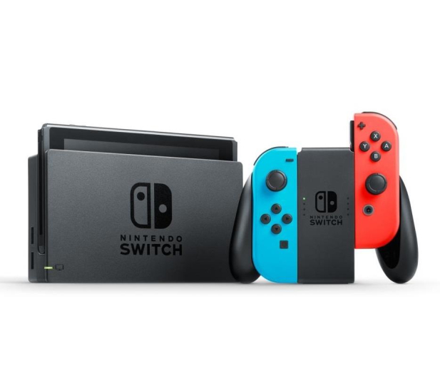 Nintendo Switch Red-Blue Joy-Con  - 345274 - zdjęcie 2