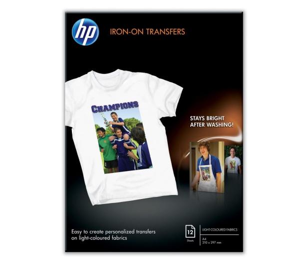 HP Papier Iron-On T-Shirt Transfers A4 12 arkuszy - 344663 - zdjęcie