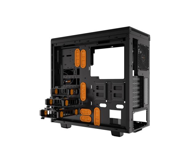 be quiet! Pure Base 600 czarno-pomarańczowa z oknem - 351875 - zdjęcie 6