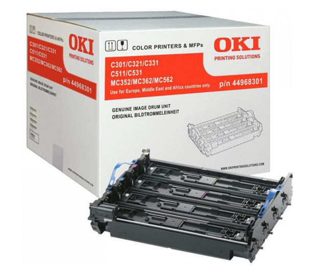 OKI color (20000 str. CMY/30000 str. black) - 351979 - zdjęcie