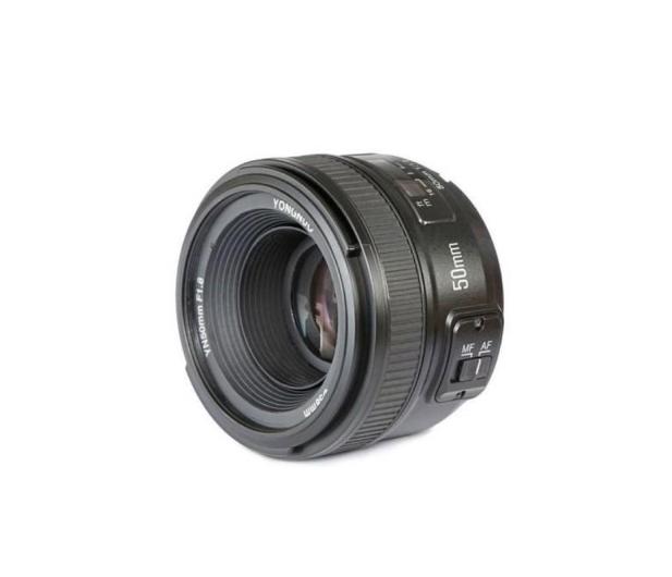 Yongnuo 50mm F1.8 do Nikon - 352044 - zdjęcie