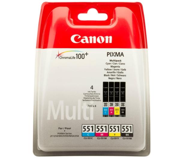 Canon CLI-551 zestaw C/M/Y/BK (6509B009) - 351061 - zdjęcie