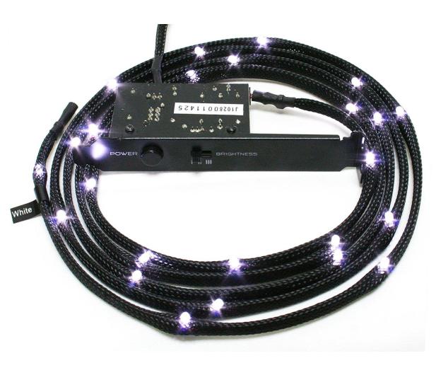 NZXT Zestaw oświetlający LED biały - 352416 - zdjęcie