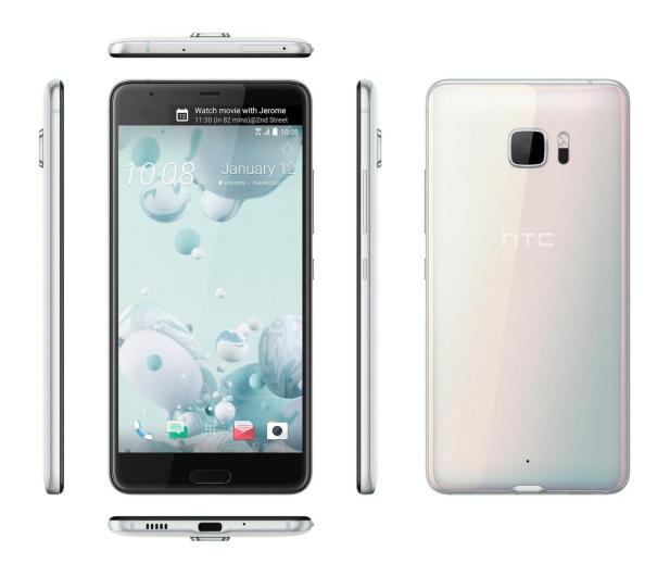 HTC U Ultra LTE biały+ U Play 32GB czarny - 385577 - zdjęcie 4