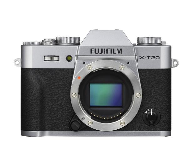 Fujifilm X-T20 18-55 mm srebrny - 348122 - zdjęcie 6