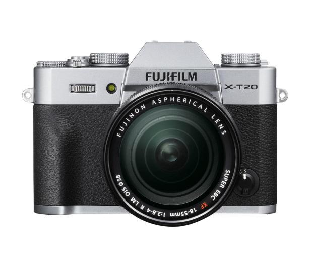 Fujifilm X-T20 18-55 mm srebrny - 348122 - zdjęcie 3