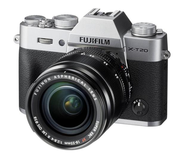 Fujifilm X-T20 18-55 mm srebrny - 348122 - zdjęcie