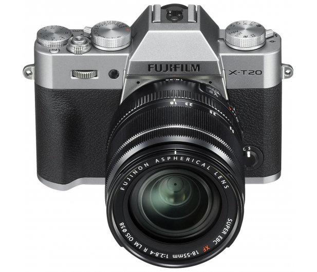 Fujifilm X-T20 18-55 mm srebrny - 348122 - zdjęcie 2