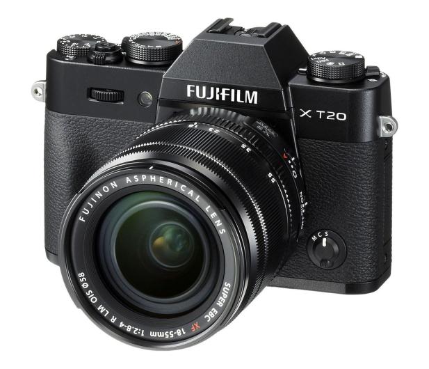 Fujifilm X-T20 18-55 mm czarny - 348121 - zdjęcie
