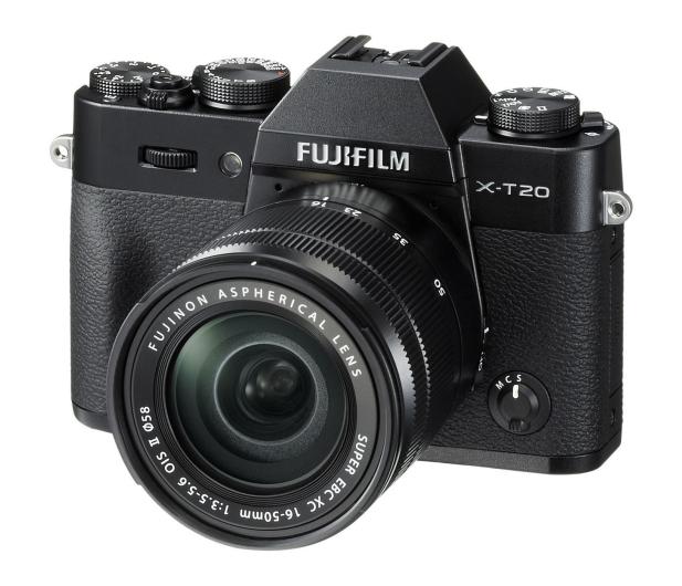 Fujifilm X-T20 16-50 mm czarny  - 348123 - zdjęcie