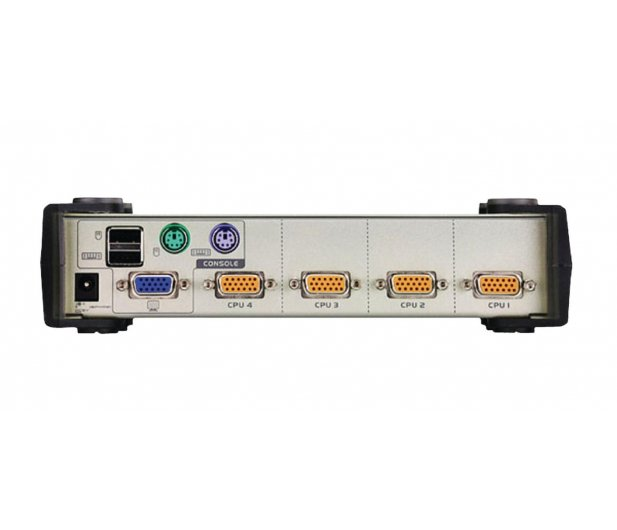 ATEN CS84U-AT USB/PS/2 + VGA (4 komputery) 1,2m - 46600 - zdjęcie 3