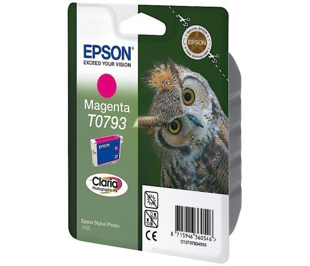 Epson T0793 magenta 11ml - 26214 - zdjęcie