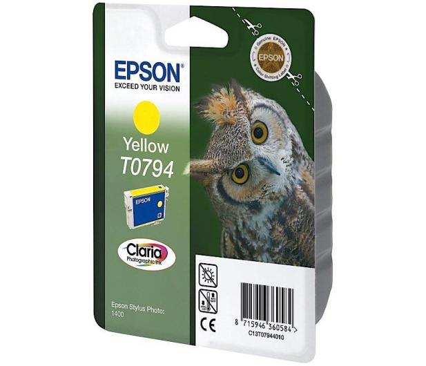 Epson T0794 yellow 11ml - 26216 - zdjęcie