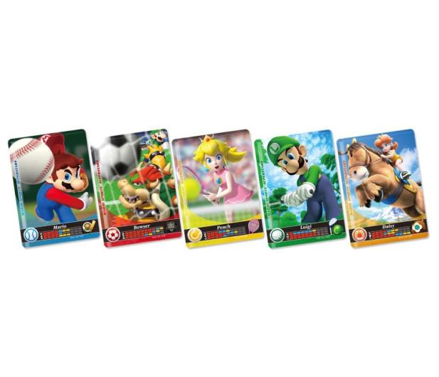 Nintendo MARIO SPORTS SUPERSTARS AMIIBO CARD (5szt) - 355728 - zdjęcie