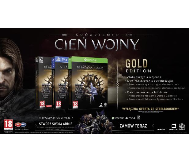 Warner Śródziemie: Cień Wojny Gold Edition - 355818 - zdjęcie 2