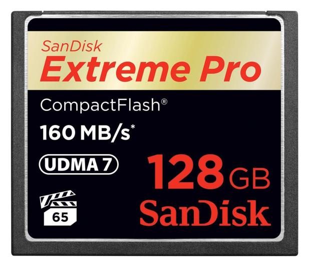 SanDisk 128GB Extreme Pro zapis 150MB/s odczyt 160MB/s  - 179835 - zdjęcie