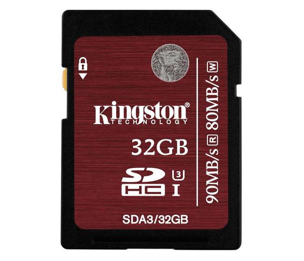Kingston 32GB SDHC UHS-I U3 90MB/s - 174000 - zdjęcie