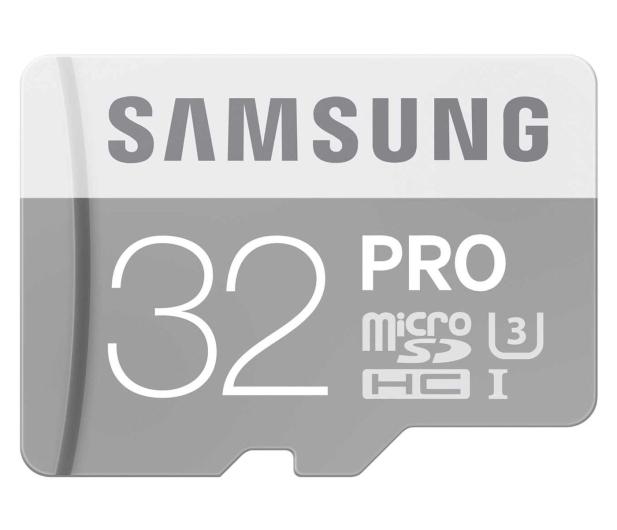 Samsung 32GB microSDHC Pro zapis 80MB/s odczyt 90MB/s  - 268168 - zdjęcie