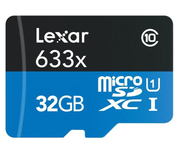 Lexar 32GB microSDHC 633x 95MB/s + adapter - 318643 - zdjęcie