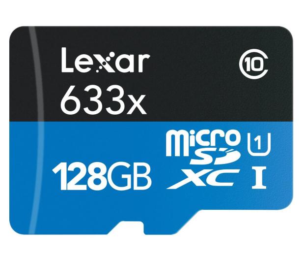 Lexar 128GB microSDXC 633x 95MB/s + adapter - 318645 - zdjęcie